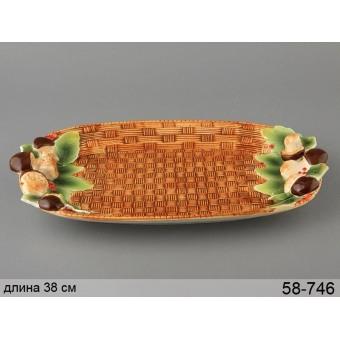 Блюдо Грибная поляна (58-746)
