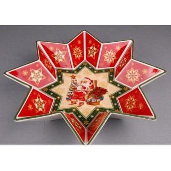 Блюдо новогоднее Звезда (586-005)