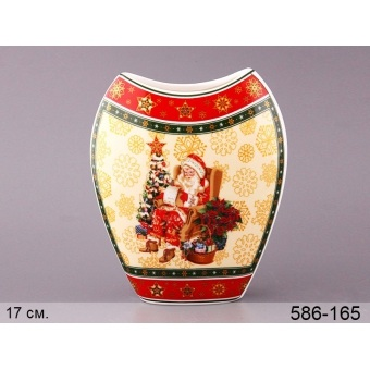 Декоративная ваза Санта клаус (586-165)