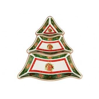 Менажница на 3 секции Christmas collection (586-217)