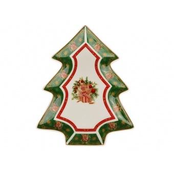 Блюдо в форме ёлки Christmas collection (586-219)