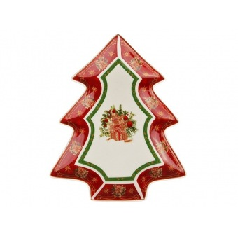 Блюдо в форме ёлки Christmas collection (586-220)