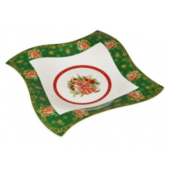 Фигурное блюдо Christmas collection (586-223)