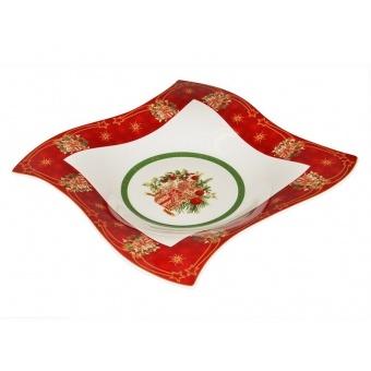 Фигурное блюдо Christmas collection (586-224)