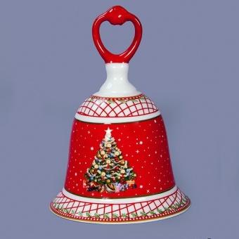 Декоративный новогодний колокольчик (586-303)