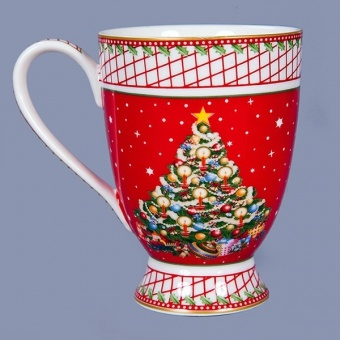 Новогодняя кружка Рождество (586-306)