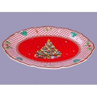 Блюдо новогоднее Ёлка (586-307)