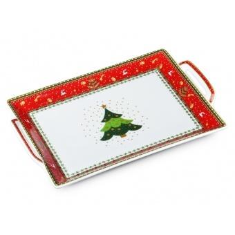 Фарфоровый поднос Christmas Collection (586-342)