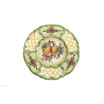 Декоративная тарелка груши