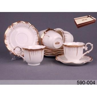 Чайный набор Роза, 12 пр. (590-004)
