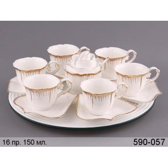 Чайный сервиз Роза, 14 пр. (590-057)
