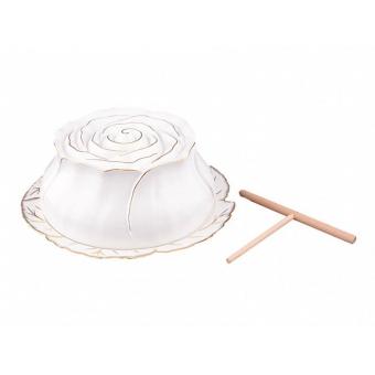 Блюдо для блинов Роза (590-081)