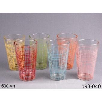 Набор стаканов, 6 шт. (593-040)