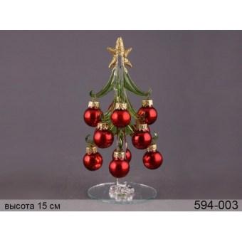 Декоративная новогодняя ёлка (594-003)