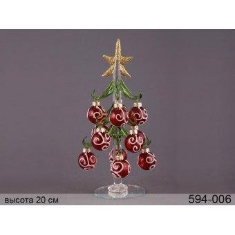 Декоративная новогодняя ёлка (594-006)