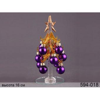 Декоративная новогодняя ёлка (594-018)