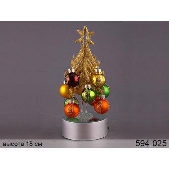 Декоративная ёлка с подсветкой (594-025)