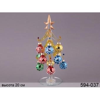 Фигурка декоративная новогоднее чудо (594-037)