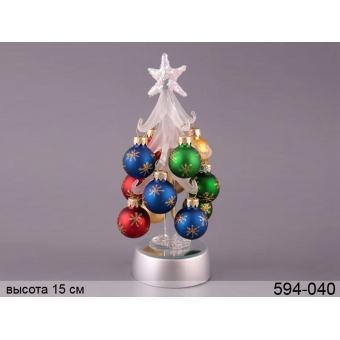 Декоративная ёлка с подсветкой (594-040)
