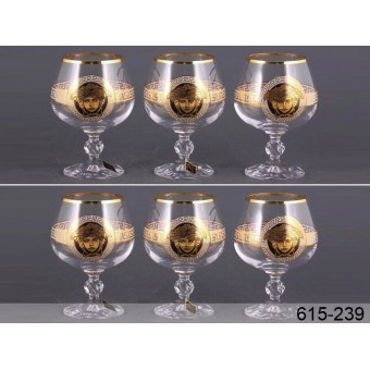 Набор бокалов для коньяка Медуза (615-239)