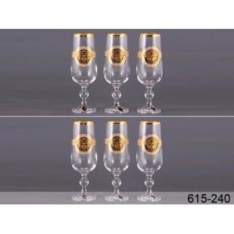 Набор бокалов для шампанского Медуза (615-240)