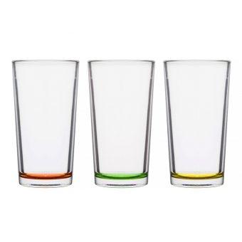 Набор стаканов цитрус, 3 шт. (650-625)
