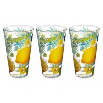 Набор стаканов Лимон, 3 шт. (650-628)