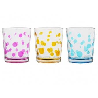 Набор стаканов горох, 3 шт. (650-633)
