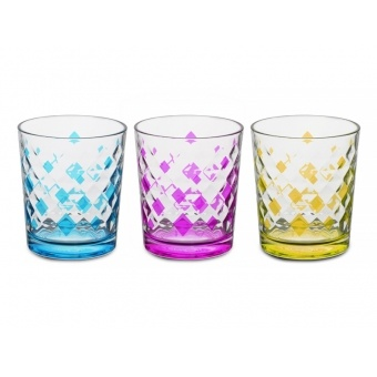 Набор стаканов ромб, 3 шт. (650-635)