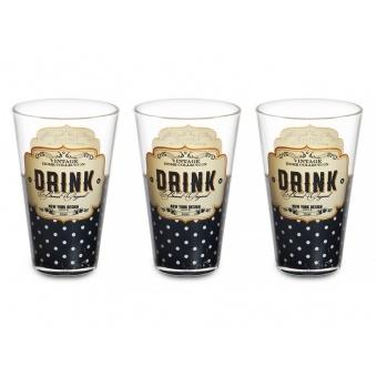 Набор стаканов Drink, 3 шт. (650-651)