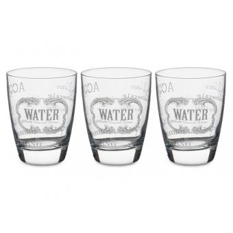 Набор стаканов Water, 3 шт. (650-662)