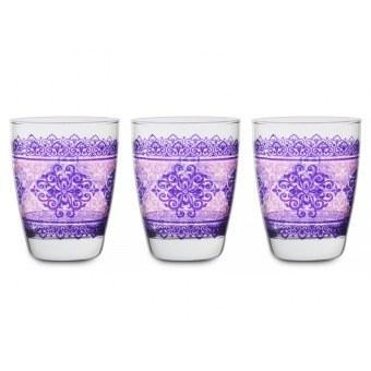 Набор стаканов Шарм Фуксия, 3 шт. (650-664)