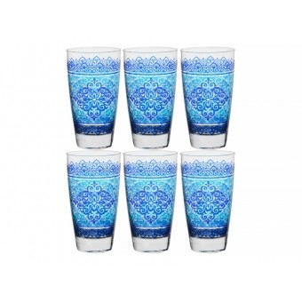 Набор стаканов Шарм Блю, 6 шт. (650-668)