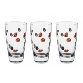 Набор стаканов для напитков Мурано, 3 шт. (650-679)