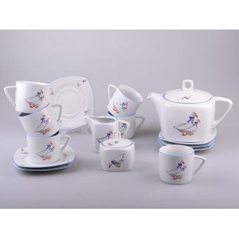 Чайный сервиз Гуси, 15 пр. (655-443)