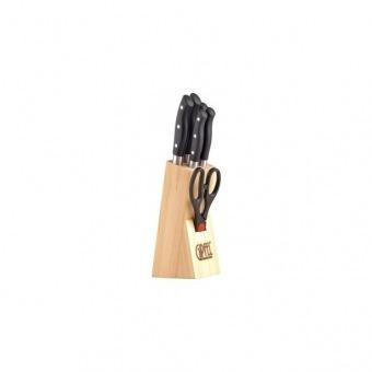 Набор ножей на деревянной подставке Undina (6626)