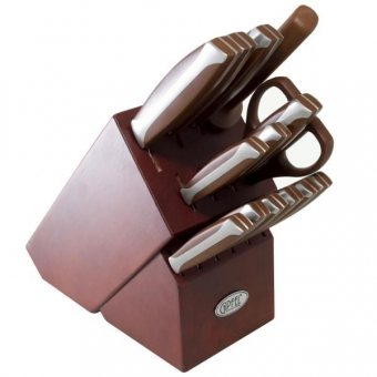 Набор ножей на деревянной подставке Acapella (6660)