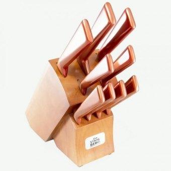 Набор ножей на деревянной подставке Stahlberg (6839-S)