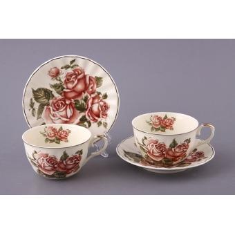Чайный набор корейская роза, 4 пр. (69-1761)