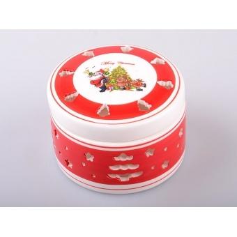 Банка для сыпучих продуктов Дед Мороз (692-100)