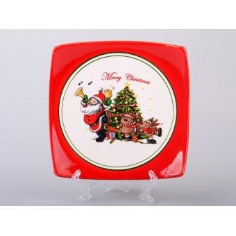 Тарелка Дед Мороз.