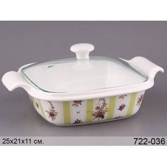 Блюдо для запекания с крышкой (722-036)