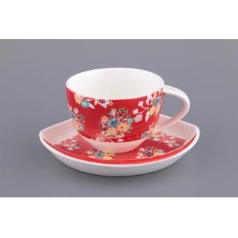 Чашка с блюдцем, 2 пр. (722-093)