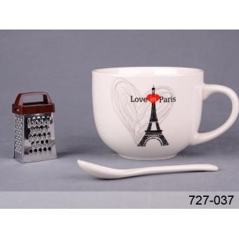 Большая кружка Любовь в Париже (727-037)