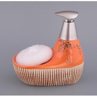 Набор для ванной комнаты Апельсин, 2 пр. (755-061)