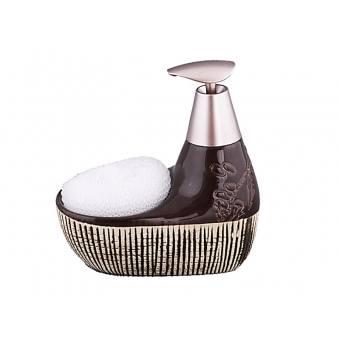 Набор для ванной комнаты шоколад, 2 пр. (755-065)
