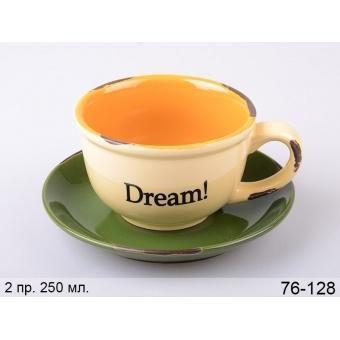 Чашка с блюдцем Мечта (76-128)