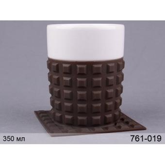 Чашка с силиконовой подставкой (761-019)