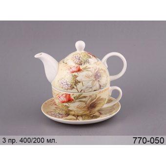Чайный набор Цветник, 3 пр. (770-050)
