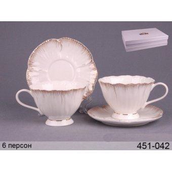 Чайный набор, 12 пр. (451-042)